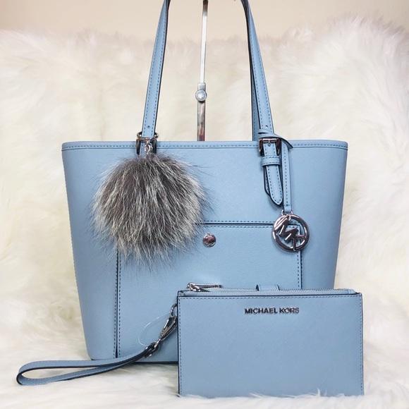 5f8de48b3d16 Michael Kors Bags | 3pcs Md Packet Tote Wallet Charms | Poshmark